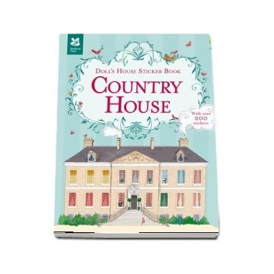 Dolls house sticker book: Country house