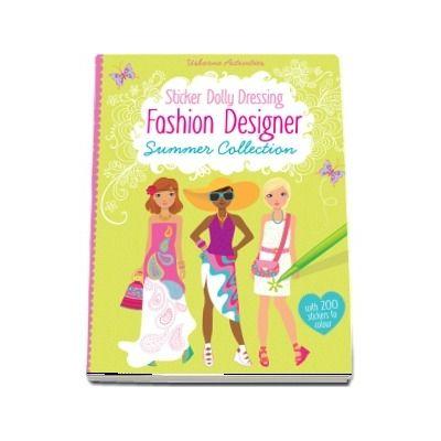 Fashion designer summer collection