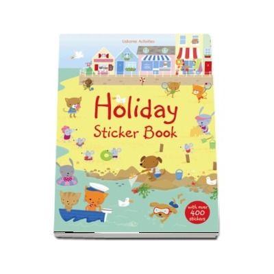 Holiday sticker book