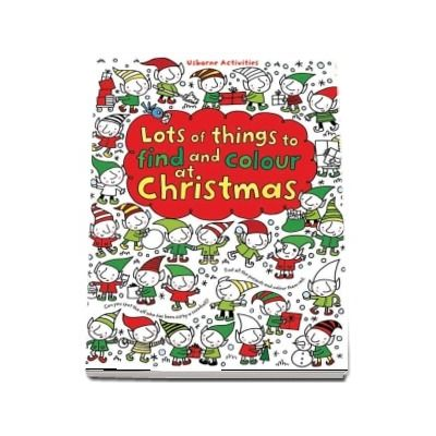 Lots of things to find and colour at Christmas