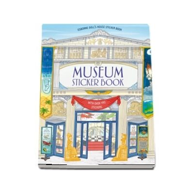 Museum sticker book
