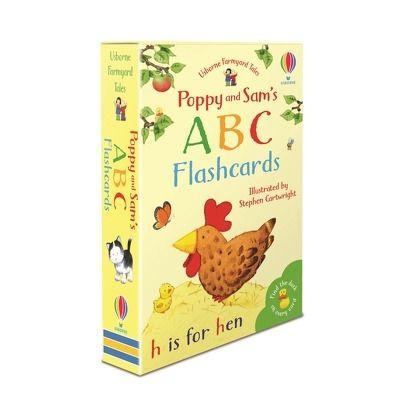 Poppy and Sams ABC flashcards