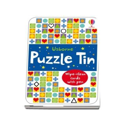 Puzzle tin
