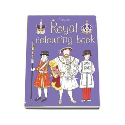 Royal colouring book