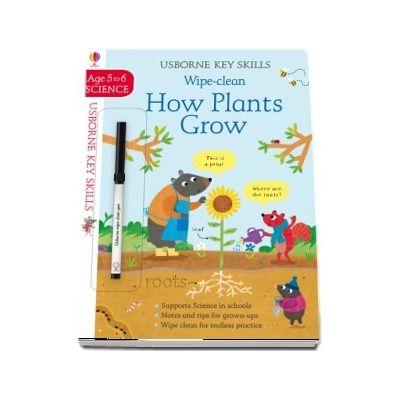 Wipe-Clean How Plants Grow 5-6