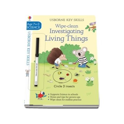 Wipe-Clean Investigating Living Things 7-8