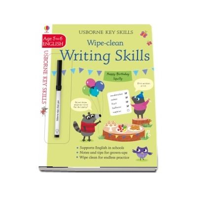 Wipe-Clean Writing Skills 5-6