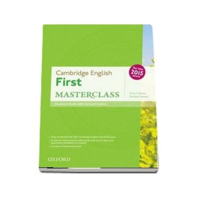 Cambridge English First Masterclass. Students Book and Online Practice Pack