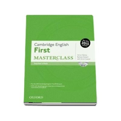 Cambridge English First Masterclass. Teachers Pack