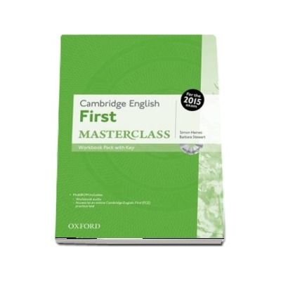 Cambridge English First Masterclass. Workbook Pack with Key