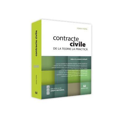 Contracte civile. De la teorie la practica