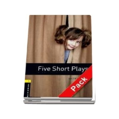 Oxford Bookworms Library, Level 1. Five Short Plays audio CD pack
