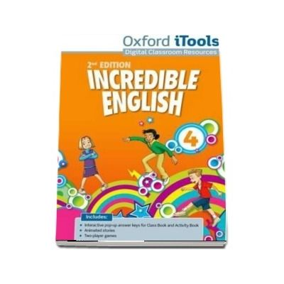 Incredible English 4. iTools DVD ROM