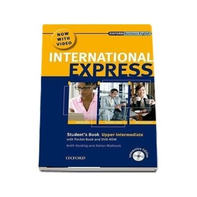 International Express Upper Intermediate Students Pack (Students Book, Pocket Book and DVD)