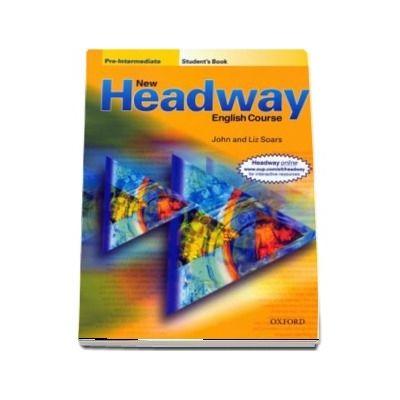 New Headway Pre Intermediate. Students Book