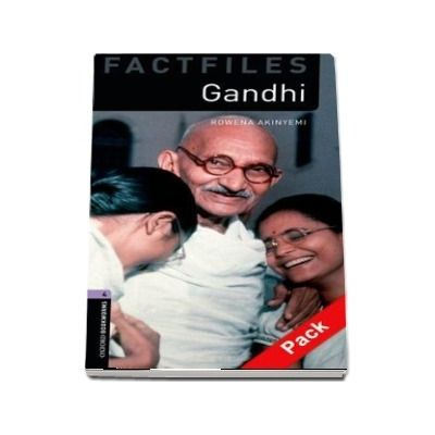 Oxford Bookworms Library Factfiles, Level 4. Gandhi audio CD pack