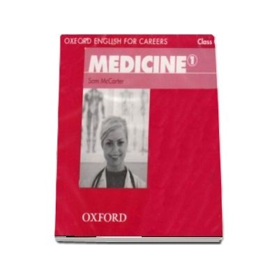 Oxford English for Careers. Medicine 1. Class Audio CD