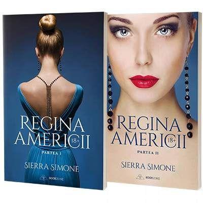Simone Sierra, Regina Americii. Doua volume