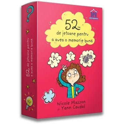 52 de jetoane pentru a avea o memorie buna