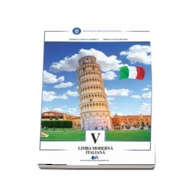 Limba moderna italiana. Manual pentru clasa a V-a
