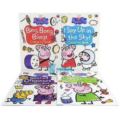 Peppa Pig Colouring. 4 Books
