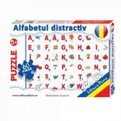 Puzzle, Alfabetul distractiv. 35 de piese
