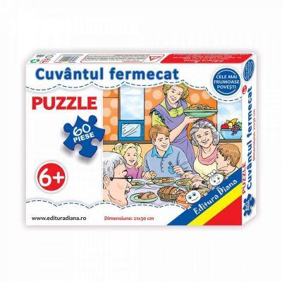 Puzzle, Cuvantul fermecat. 60 de piese