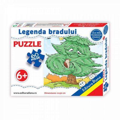 Puzzle, Legenda bradului. 60 de piese
