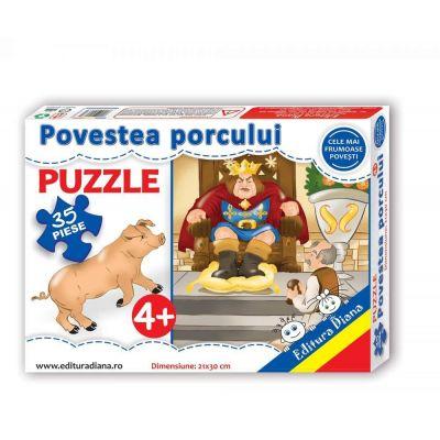 Puzzle, Povestea porcului. 35 de piese