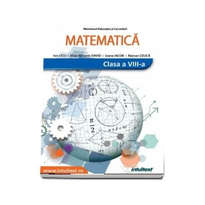 Manual de matematica, pentru clasa a VIII-a