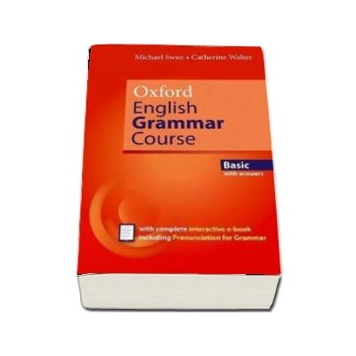 Oxford English Grammar Course. Basic with answers, includes e-book