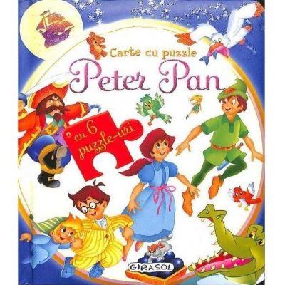 Peter Pan. Carte cu puzzle, cu 6 puzzle-uri
