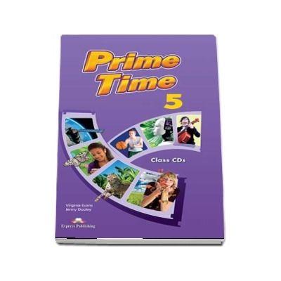Virginia Evans, Prime Time 5, class audio CD (set of 8)