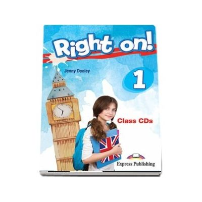 Right On! 1. Class CDs, set of 3