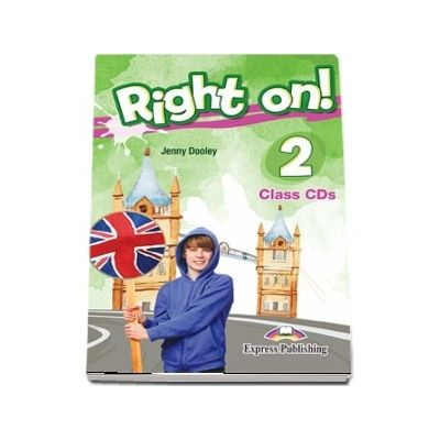 Right On! 2. Set of 3 Class CDs