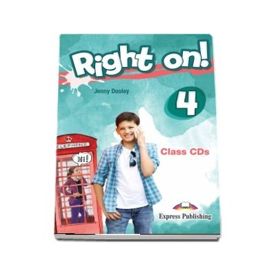 Right On! 4. Set of 3 Class CDs