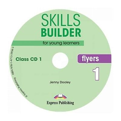 Skills Builder FLYERS 1. Set of 2 Class CDs