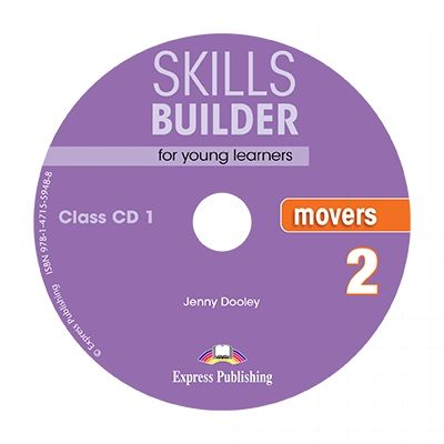 Skills Builder MOVERS 2. Set of 2 class CDs