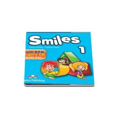 Smiles 1 multi-ROM. Pupils Audio CD, DVD Video PAL
