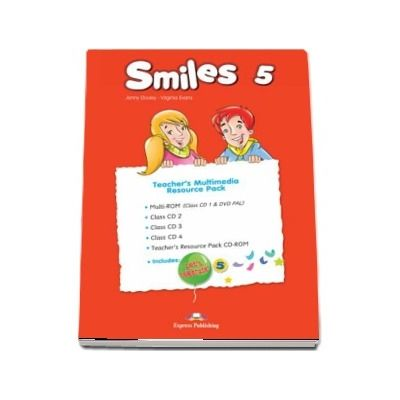Smiles 5. Set of 5 Teachers Multimedia Resource Pack (Jenny Dooley)