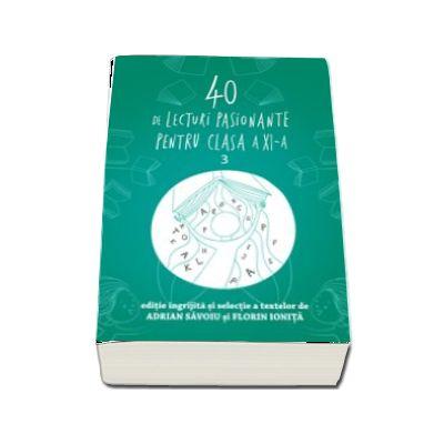 40 de lecturi pasionante pentru, clasa a XI-a