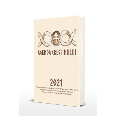 Agenda crestinului 2021 - Format 20x24, 5 cm
