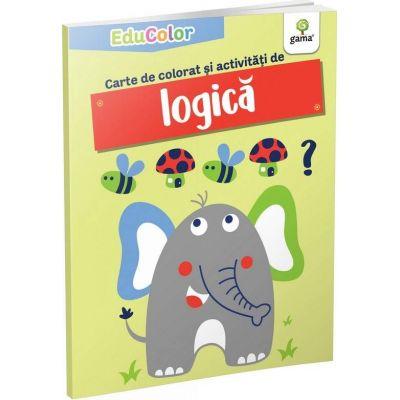Carte de colorat si activitati de logica