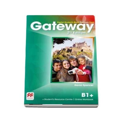 Gateway 2nd edition B1 plus Digital Students Book Premium Pack