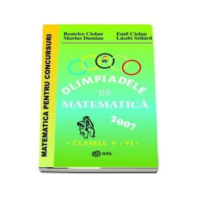 Olimpiade de matematica 2007, pentru clasele V-VI