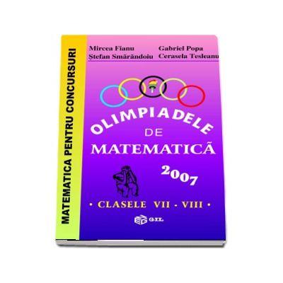 Olimpiade de matematica 2007, clasele VII-VIII