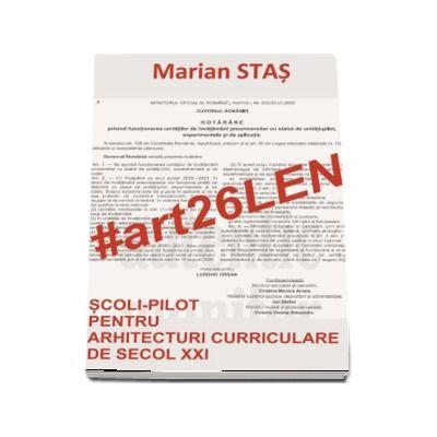#art26LEN - Scoli-pilot pentru arhitecturi curriculare de secol XXI
