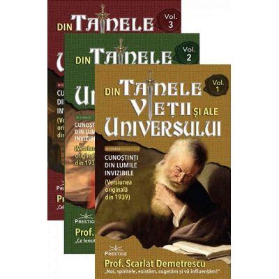 Din tainele vietii si ale universului. Versiune originala din 1939. Volumele I, II, III.