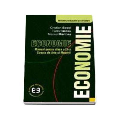 Economie. Manual pentru clasa a IX-a. Scoala de arte si meserii