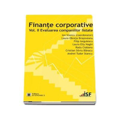 Finante corporative. Volumul 2. Evaluarea companiilor listate
